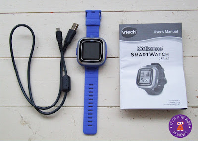 vtech smartwatch plus out of the box
