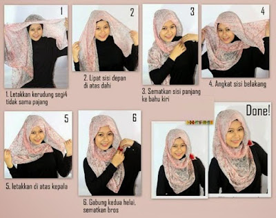 Permalink to 5 Cara Memakai Jilbab Pashmina Untuk Wajah Bulat Tren 2017