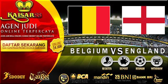 PREDIKSI TEBAK SKOR JITU WORLD CUP BELGIUM VS ENGLAND 14 JULI 2018