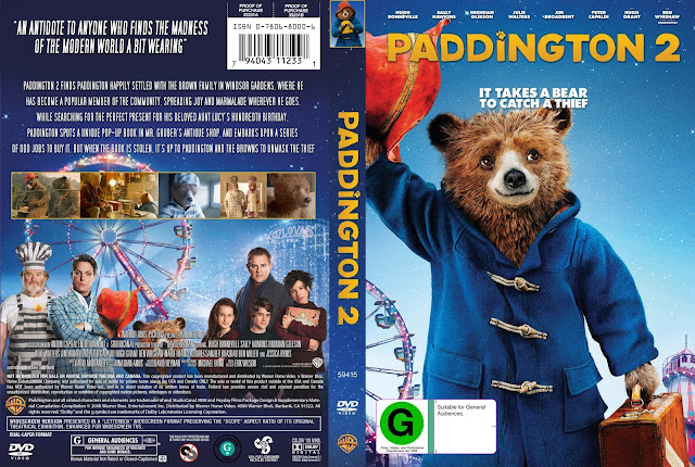 Paddington 2 DVD Cover