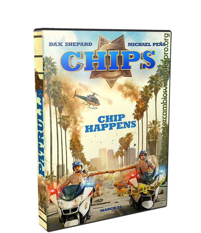 Chips Patrulla Motorizada Recargada poster box cover