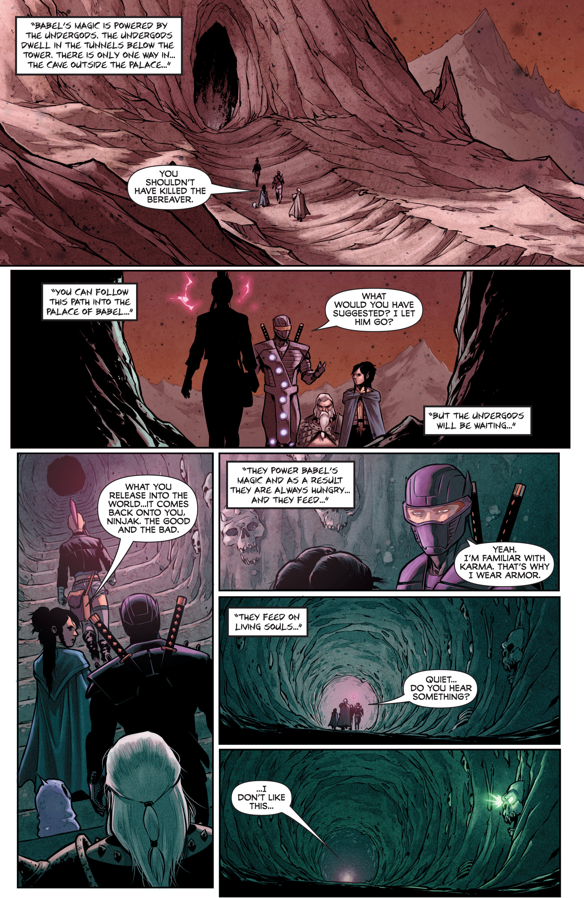 Read online Rapture comic -  Issue #2 - 20