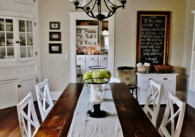 painting ideas dining room table