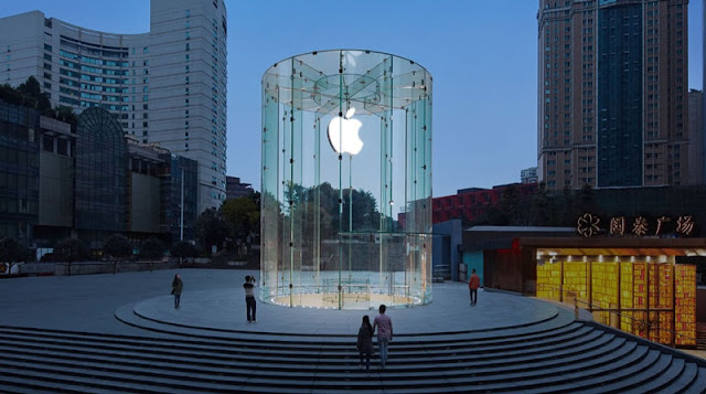 toko apple di taiwan