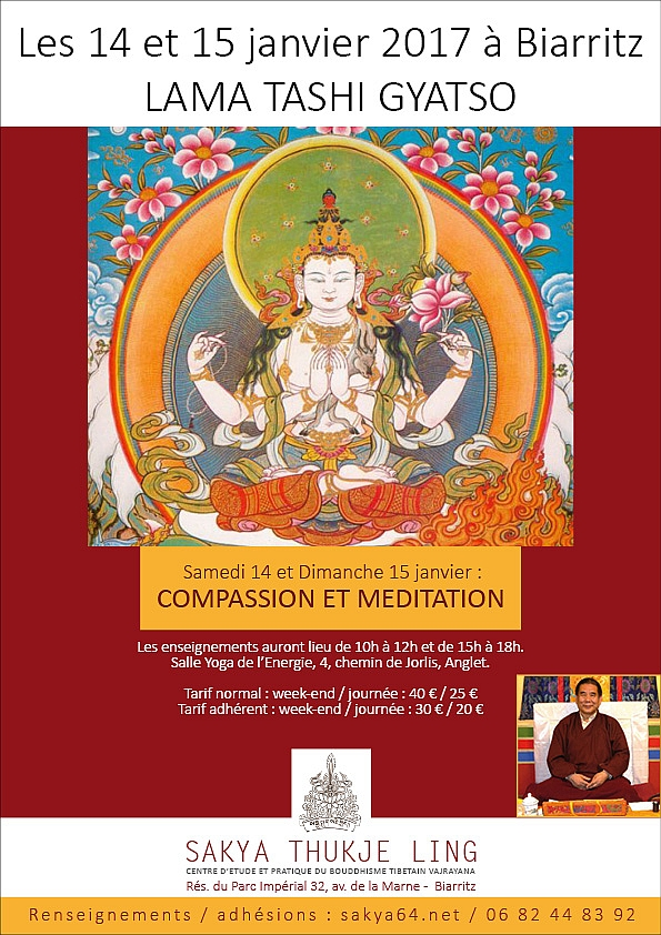 Miroir du dharma visite de lama tashi gyatso au centre for Miroir du dharma