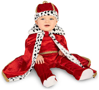 Boys Royal Majesty King Infant Costume for Halloween