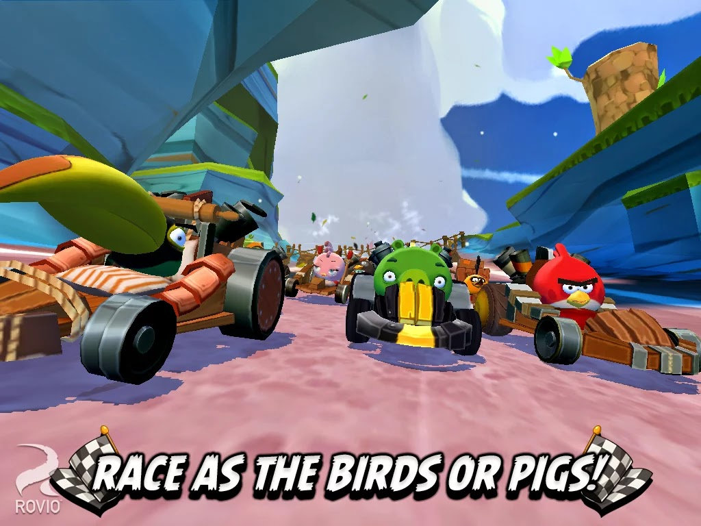 Angry Birds Go! v1.7.0 Mod [Unlimited Coins]