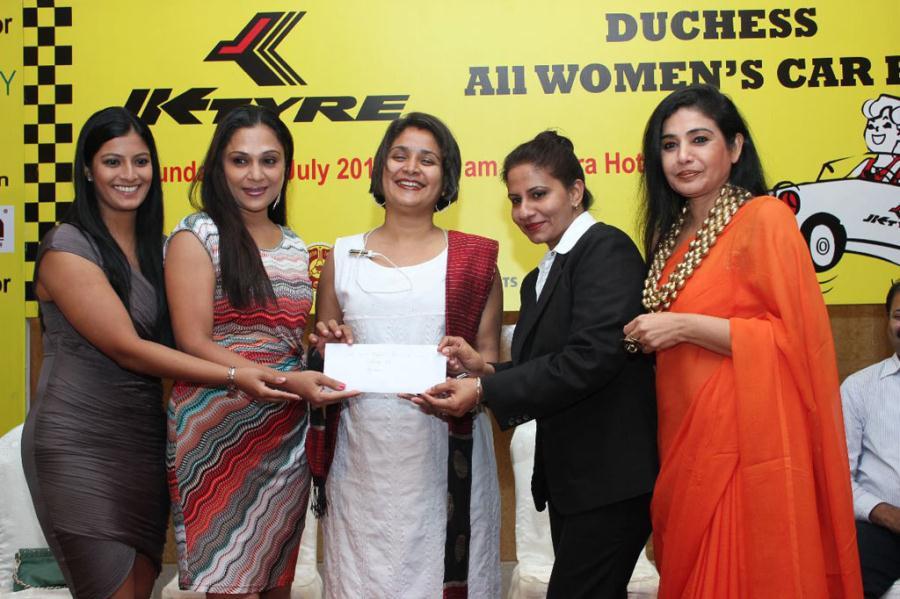 Varalakshmi Sarath Kumar At JK Tyres Event Photos