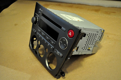 snackeyes: 2005 Subaru Outback AUX-IN Hack Via Radio Module