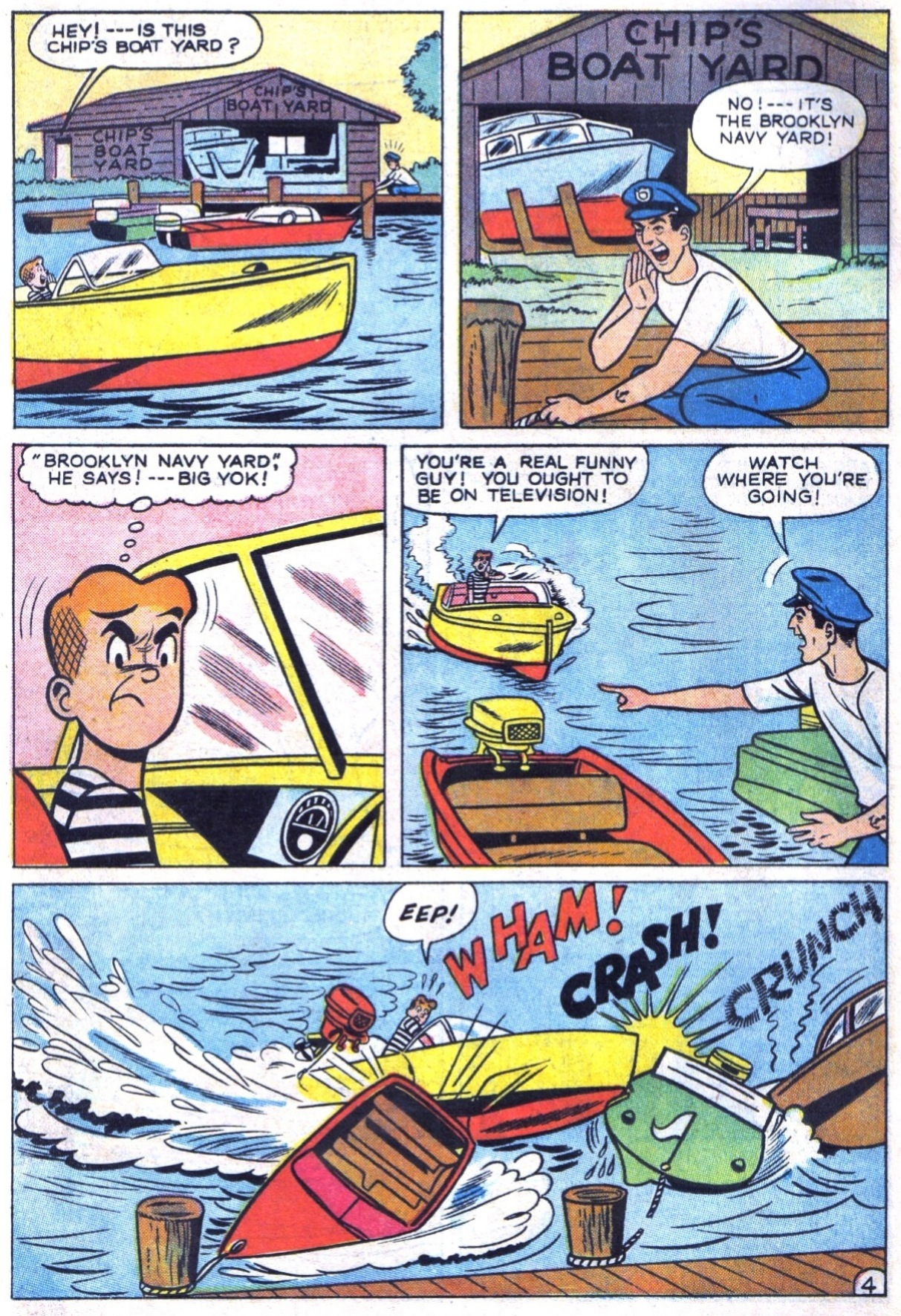 Read online Archie (1960) comic -  Issue #150 - 6
