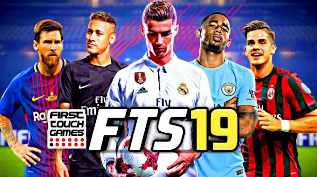 Free Download FTS 19 (First Touch Soccer 2019) Mod Apk Data + OBB For Android
