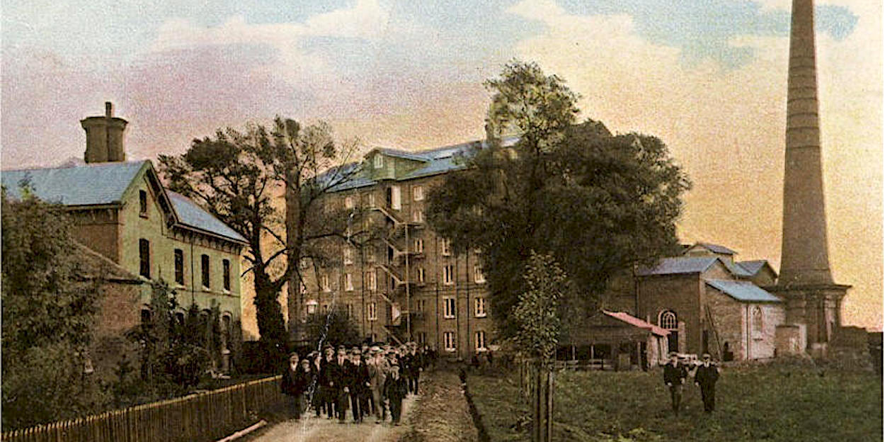 Enderby's Printing Works 1905