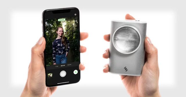 LIT Flash: Un flash off-camera allo Xenon per smartphone