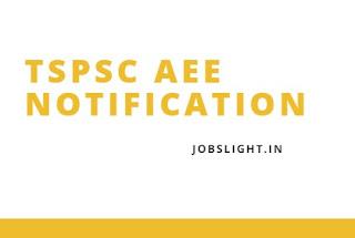 TSPSC AEE Notification