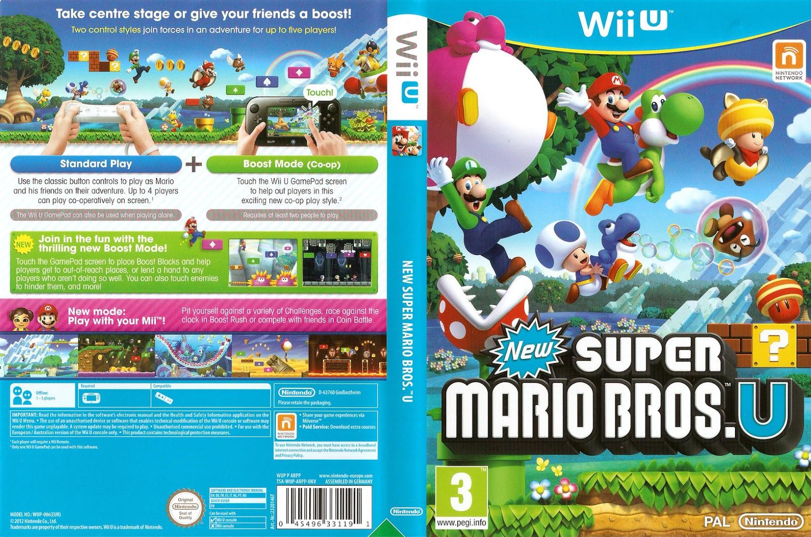 U chegou carregando o peso de divulgar o Wii U. Mesmo não tendo nenhuma  grande inovação, New Super Mario Bros. U é um ótimo jogo ... 388d277b5c