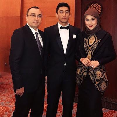 Daffa Wardhana dan Keluarga
