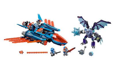 JUGUETES - LEGO Nexo Knights  70351 Avión Falcon Atacante de Clay  2017 | Edad: 8-14 años | Edad:  Comprar en Amazon España