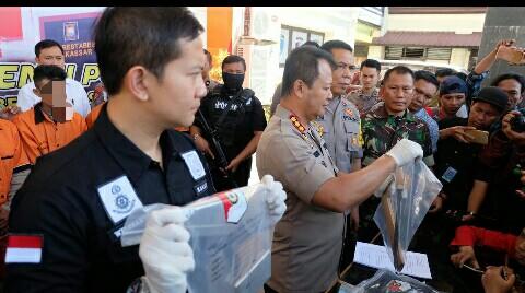 Polda Sulsel Berhasil Gulung Komplotan Begal Sadis di Makassar
