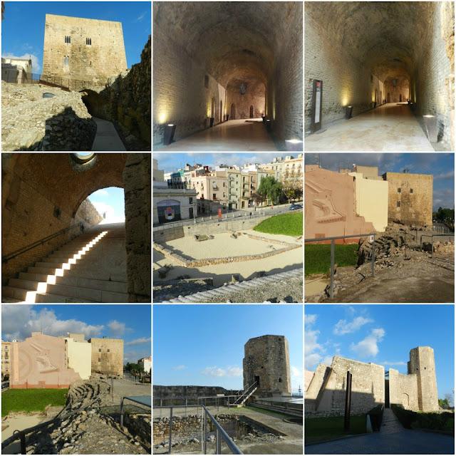 Patrimônios da UNESCO em Tarragona (Espanha) - Circo romano de Tarraco