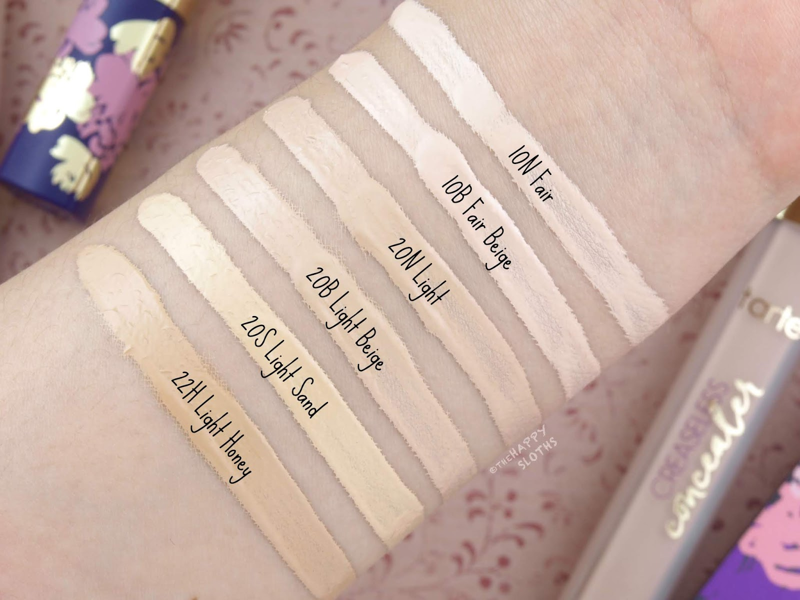 Tarte | Creaseless Concealer: Review and Swatches