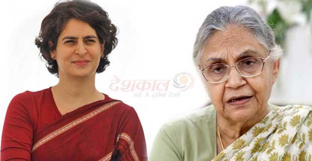 प्रियंका और शीला की जोड़ी यूपी चुनाव में सुपर हिट रहेगी-शीला दीक्षित