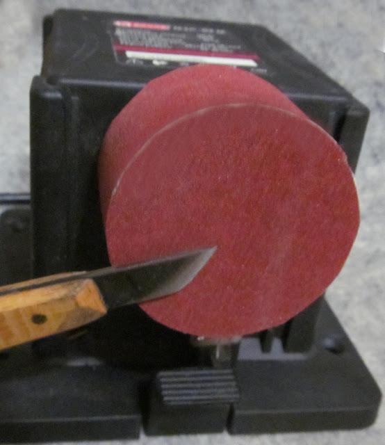 самодельный шлифовальный барабан