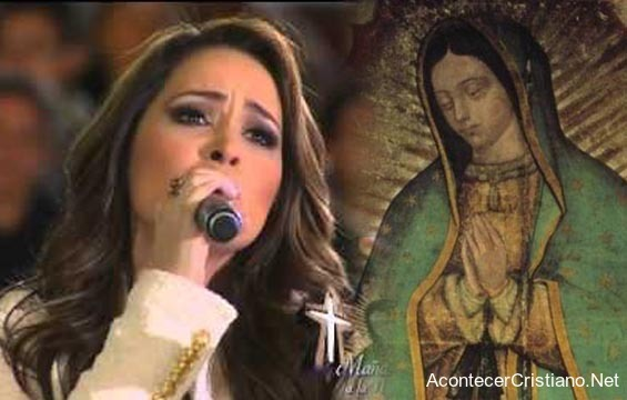 Canción de Marcela Gándara dedicada a la Virgen