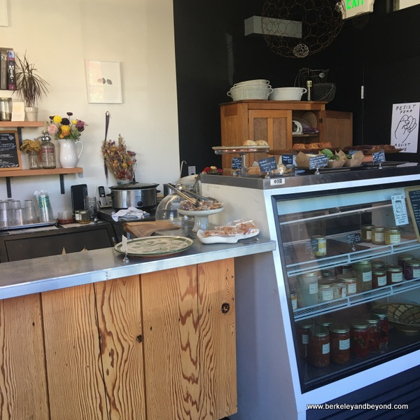 counter at Standard Fare bakery in Berkeley California