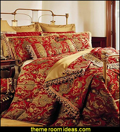 Sherry Kline China Art Red 6-piece Comforter Set