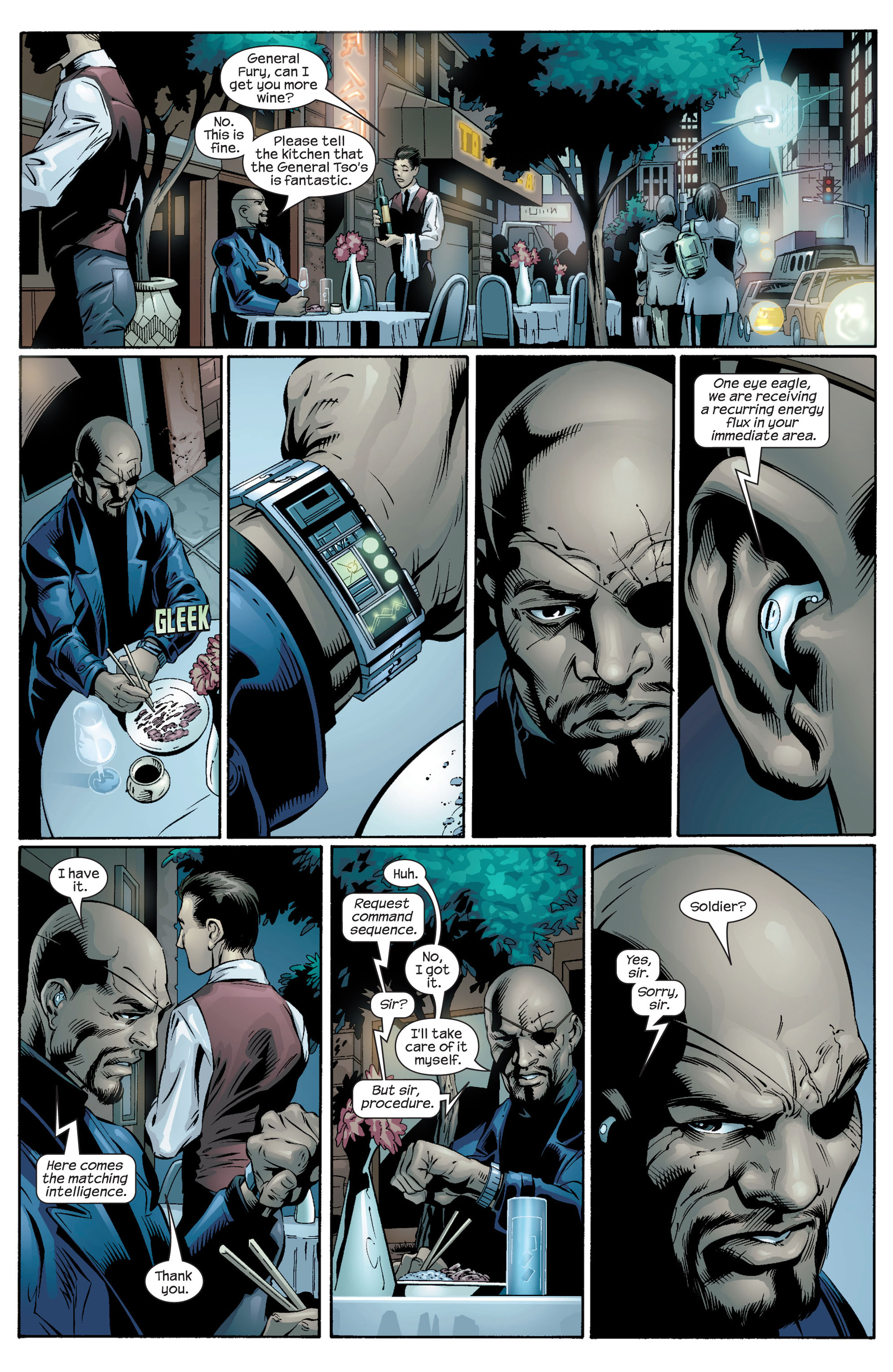 Read online Ultimate Spider-Man (2000) comic -  Issue #39 - 3