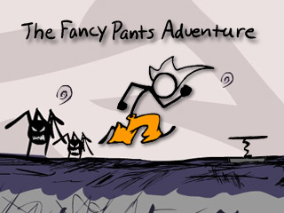 Here is a #Sonic like #FlashGame series by #BradBorne dubbed #FancyPants! #OnlineGames