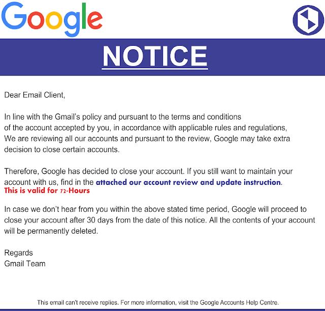 Cảnh báo lừa đảo giả danh gmail