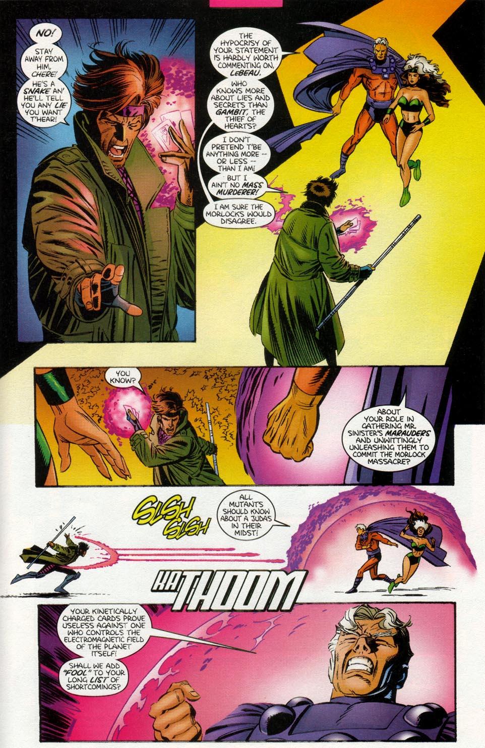 Read online X-Men: Magneto War comic -  Issue # Full - 13