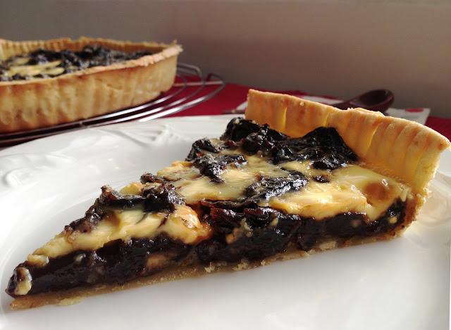 Sweet Kwisine, tarte, pruneaux, prunes, pie