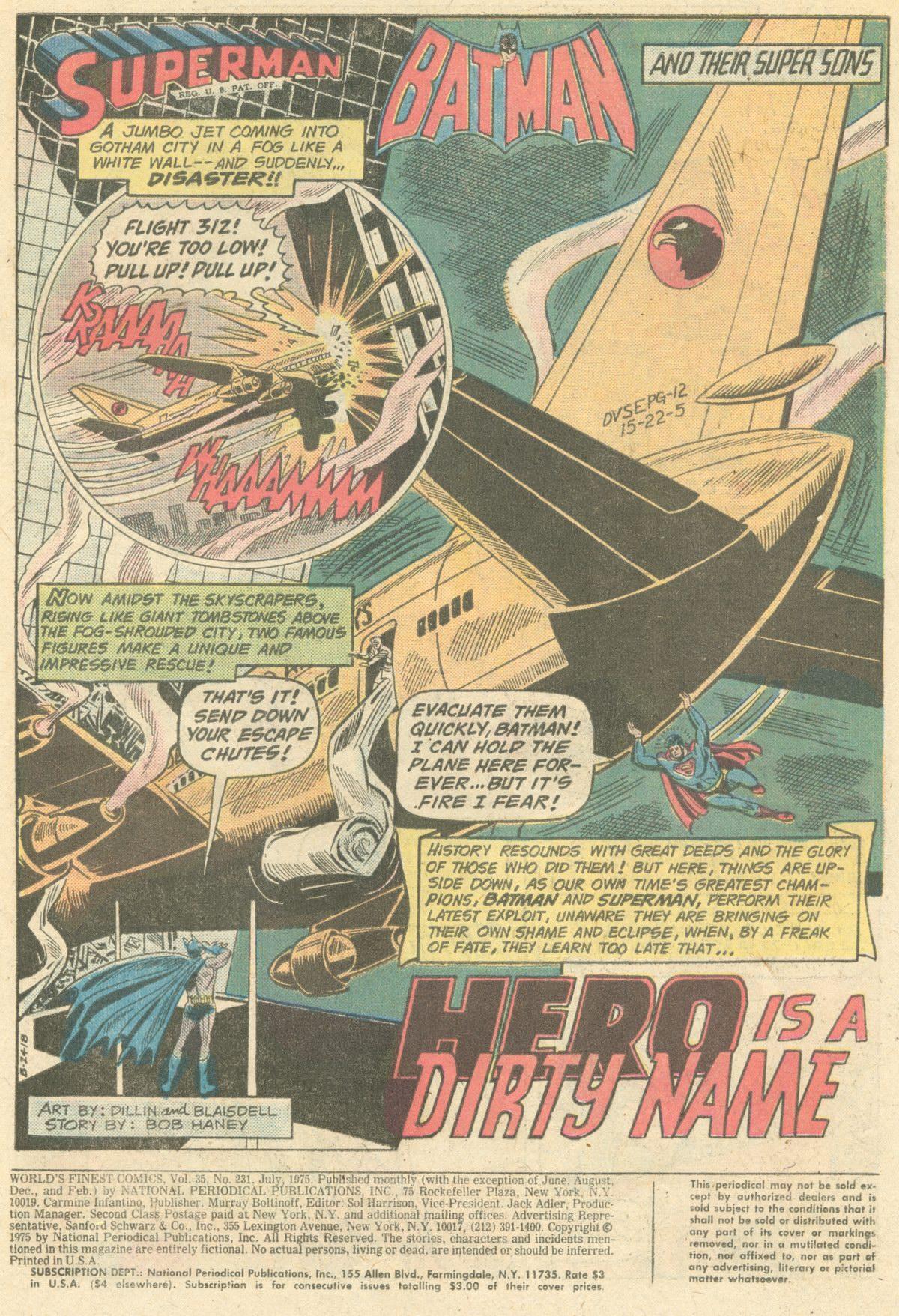 Read online World's Finest Comics comic -  Issue #231 - 3