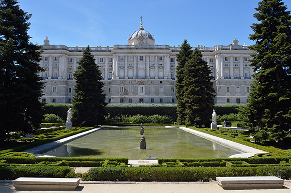palacio real royal palace madrid