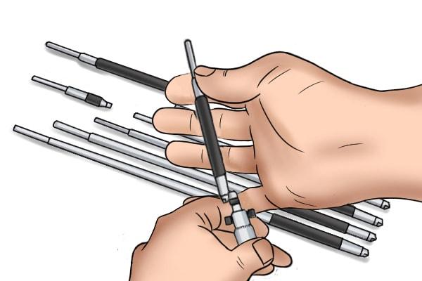 ic cap mikrometresi nasıl kullanılır