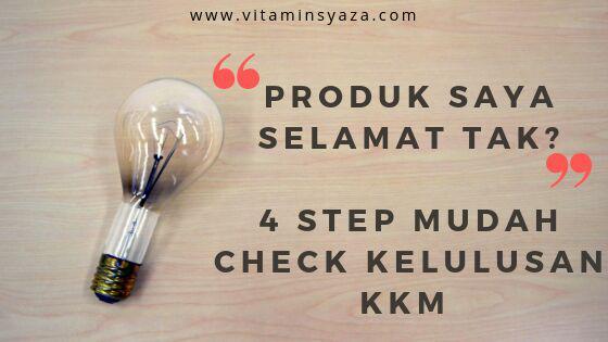 Cara Semak Kelulusan Produk Kesihatan Dengan KKM [4 Step Mudah]