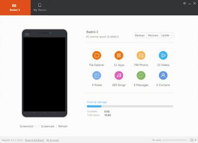 Cara Flash Xiaomi Redmi 3 Via Mi Flash
