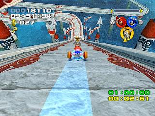 لعبة Sonic Heroes أبطال سونيك المشهورة