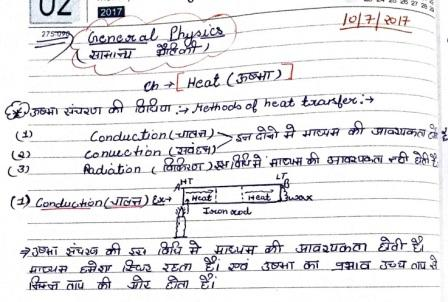 General Science Handwritten Notes Archives – Notes PDF