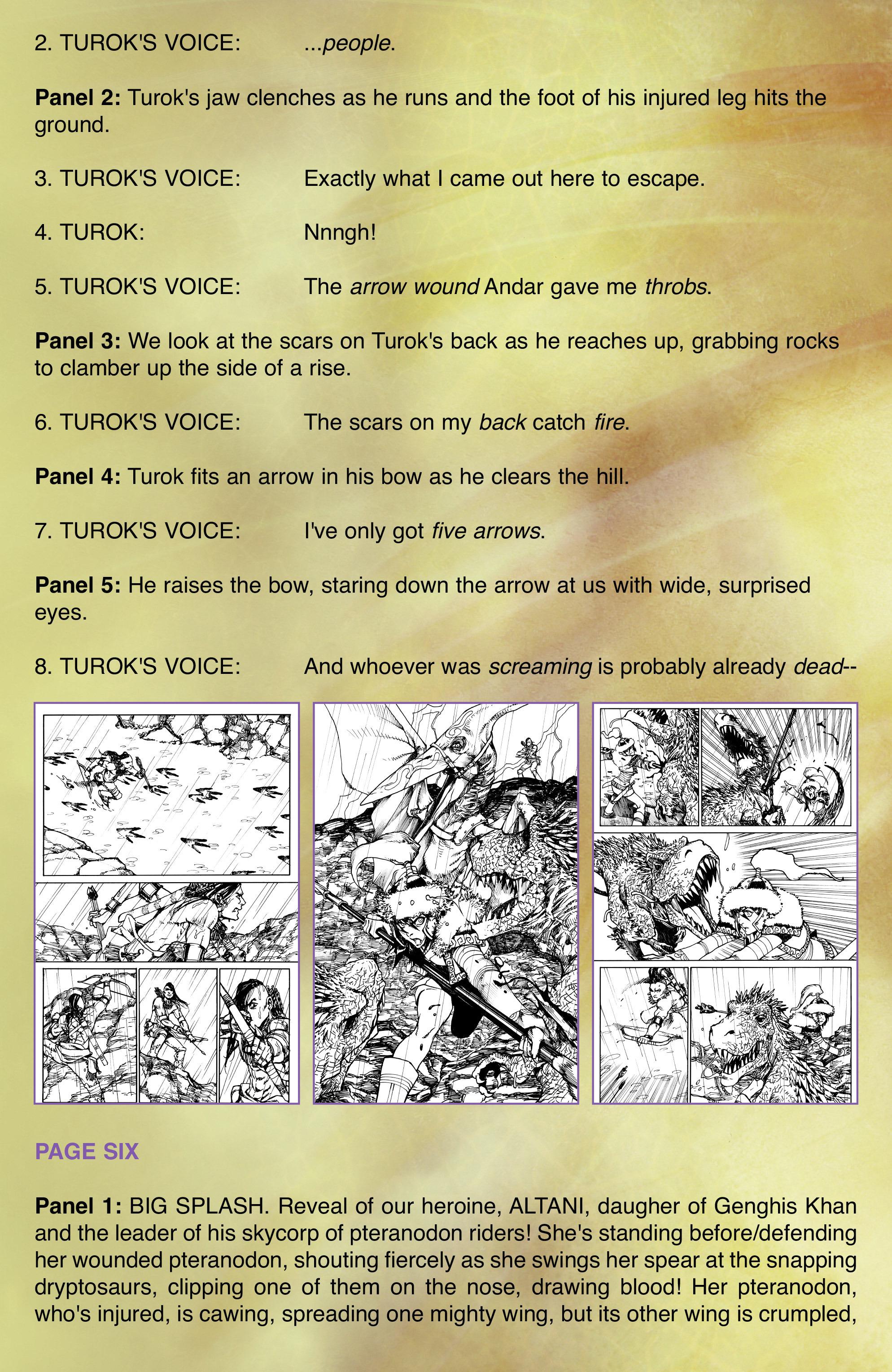 Read online Turok: Dinosaur Hunter (2014) comic -  Issue # _TPB 2 - 92
