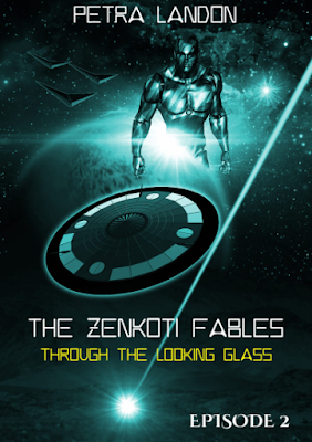 Front cover of THROUGH THE LOOKING GLASS (THE ZENKOTI FABLES, EPISODE 2) by Petra Landon
