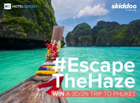 bowdywanders.com Singapore Travel Blog Philippines Photo :: Singapore :: Skiddoo + Hotel Quickly: #EscapeTheHaze FREE Holiday Contest