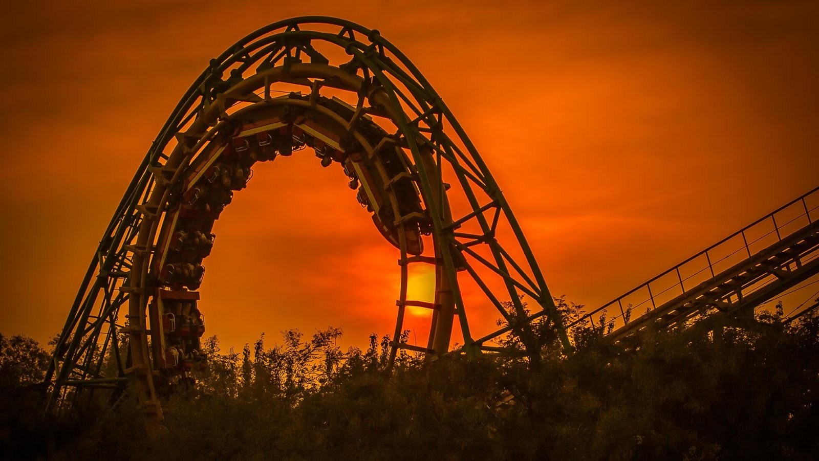 Roller Coaster Wallpaper 1080p