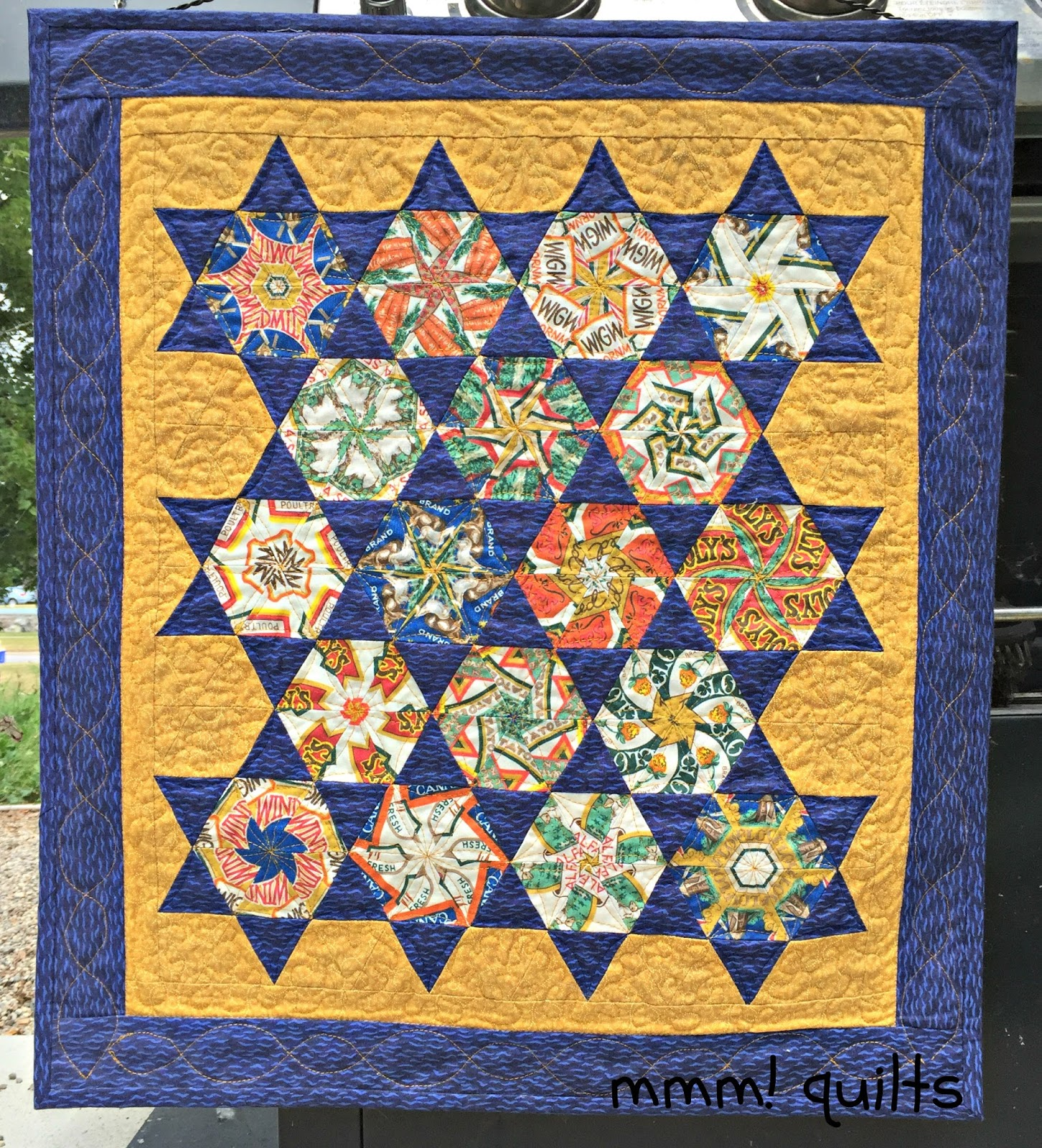 Musings of a Menopausal Melon - mmm! quilts: Stack 'n Whack TBT : stack and whack quilt tutorial - Adamdwight.com