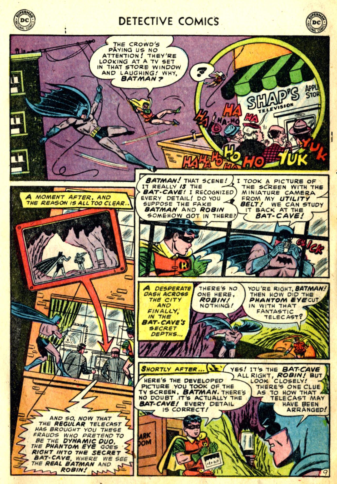 Detective Comics (1937) 192 Page 10