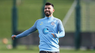 Sergio is main player for the manchester city team.