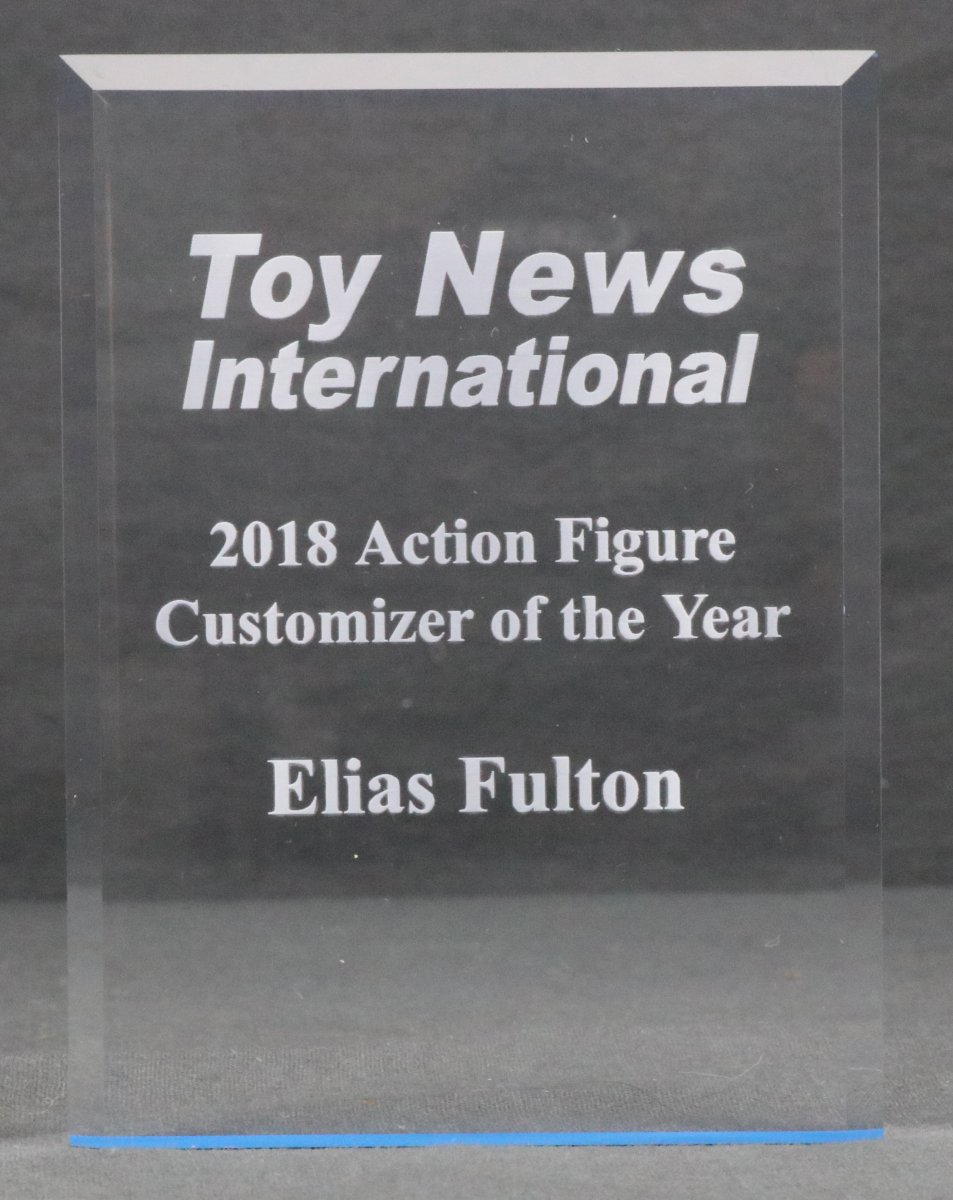 "ELIAS of ""CUSTOMS FOR THE KID"""