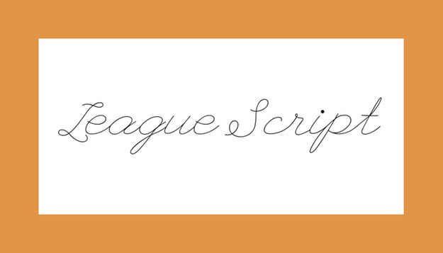 Font League Script Download